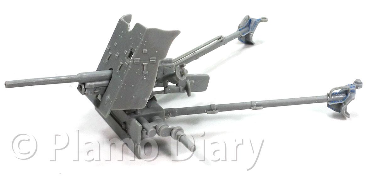 砲架のディテールアップ