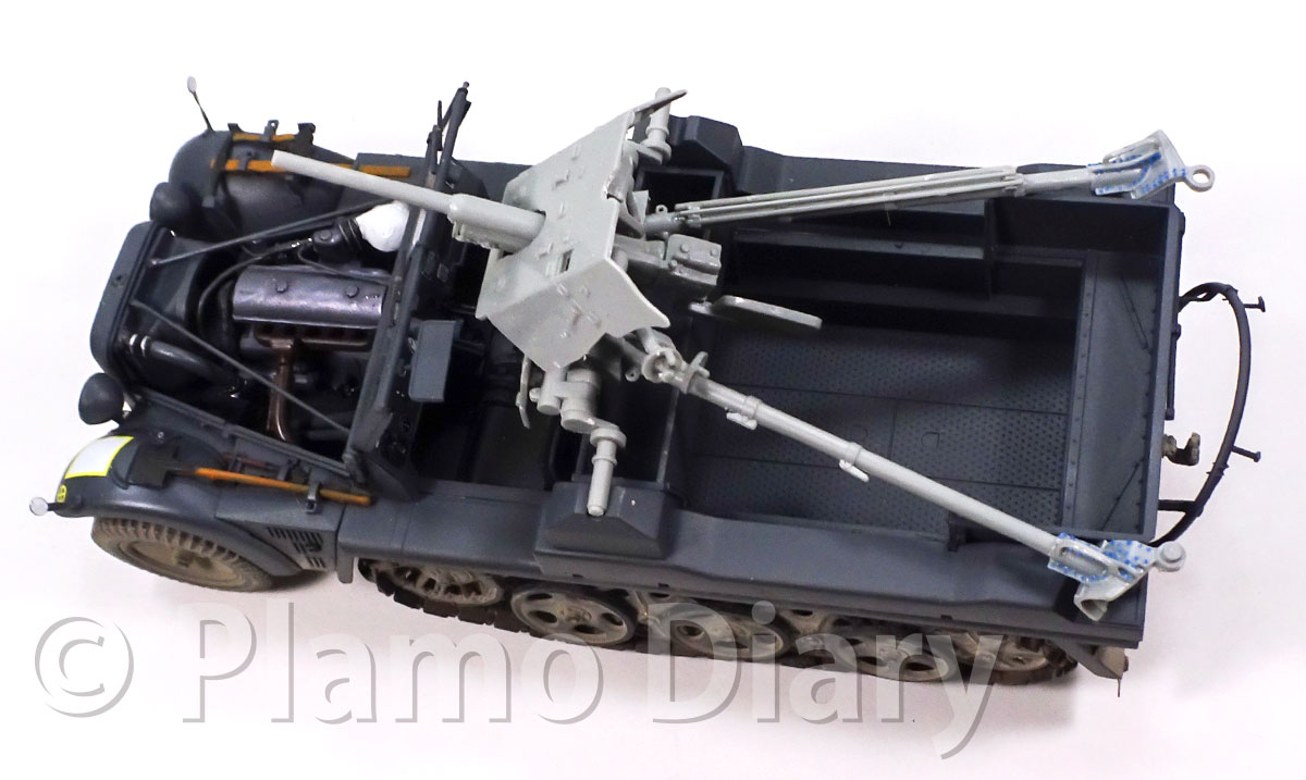 対戦車砲の組み立て完了