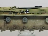 足まわりの汚し 3号戦車M初期型