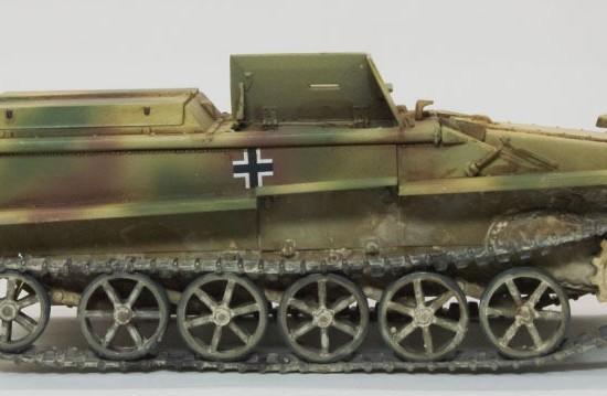 履帯の取り付け ボルグバルド4B型