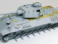組立て完了 4号戦車砲塔搭載ベルゲパンター