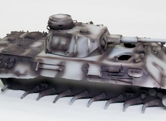 4号戦車砲塔搭載ベルゲパンター