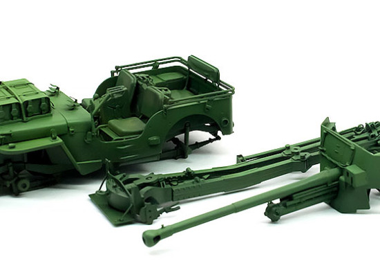 6ポンド対戦車砲 空挺部隊 / 1/4tトラック