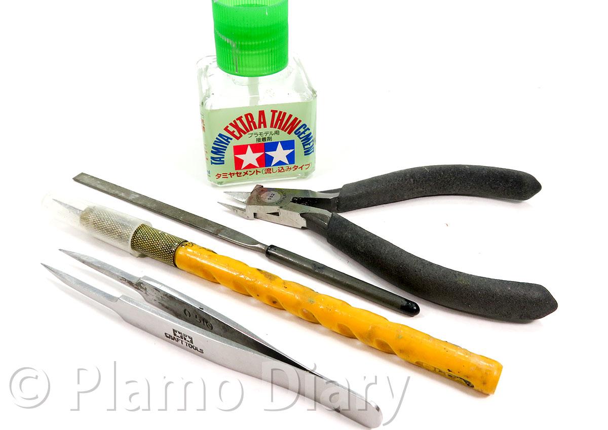 今回使用する工具