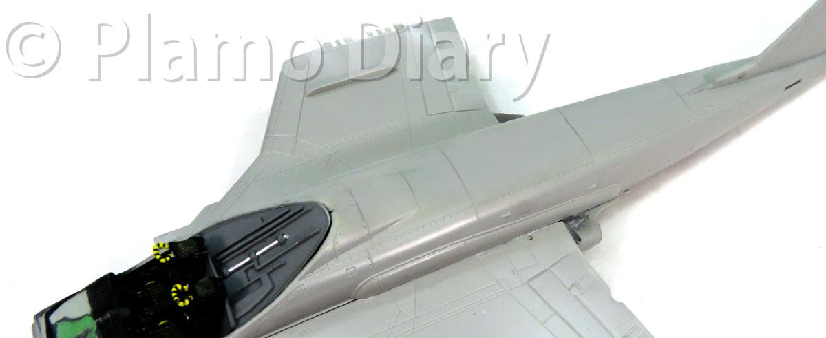 機体の整形