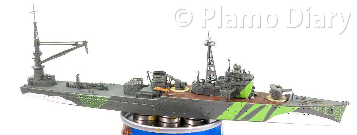 大型クレーンと高射砲の製作