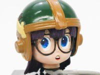 ヘルメットの塗装と瞳の描き直し