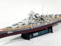 World of Warships・ドイツ戦艦ビスマルク イタレリ 1/700