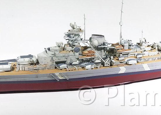 艦載機と艦載艇の製作