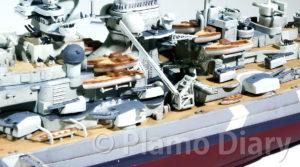 艦載艇の塗装