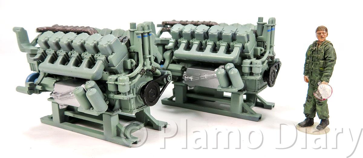 DD51のエンジン
