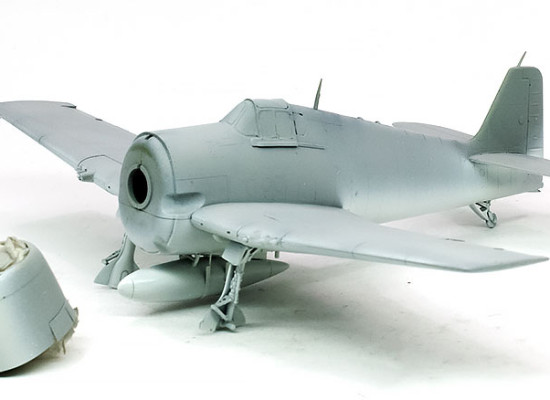 F6F-3ヘルキャット 塗装1色目