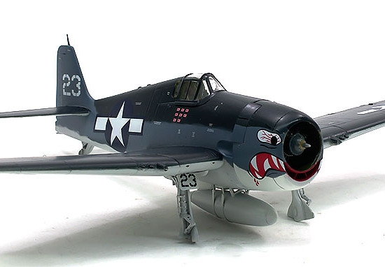 F6F-3ヘルキャット デカール貼り