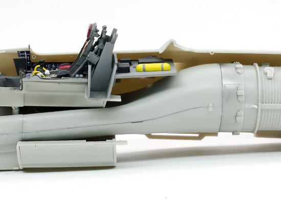 機体内部パーツの仮り組み