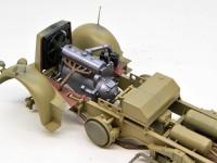 エンジンの塗装と組み込み