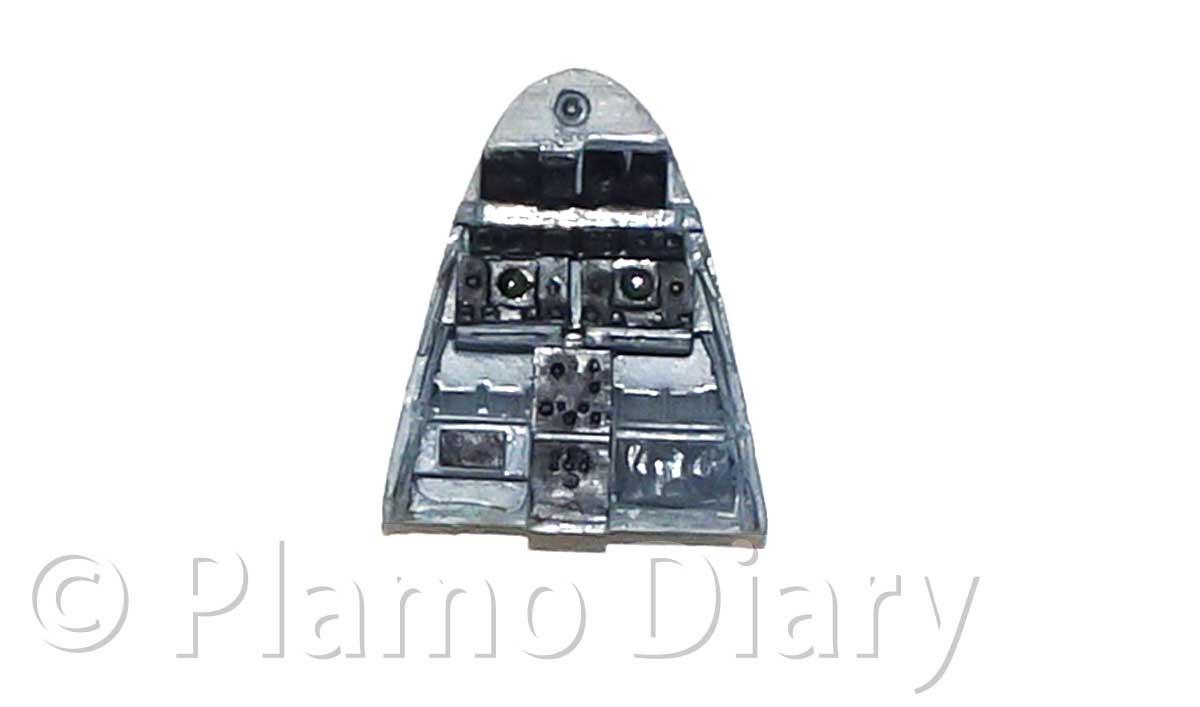 レーダーの操作盤