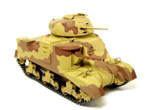 M3グラント中戦車の迷彩塗装