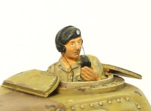 M3グラント中戦車 戦車兵の制作