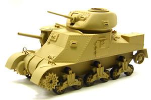 M3グラント中戦車の基本塗装
