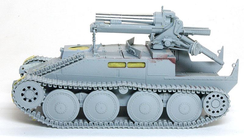 15cm重歩兵砲sIG33の組立て グリレK