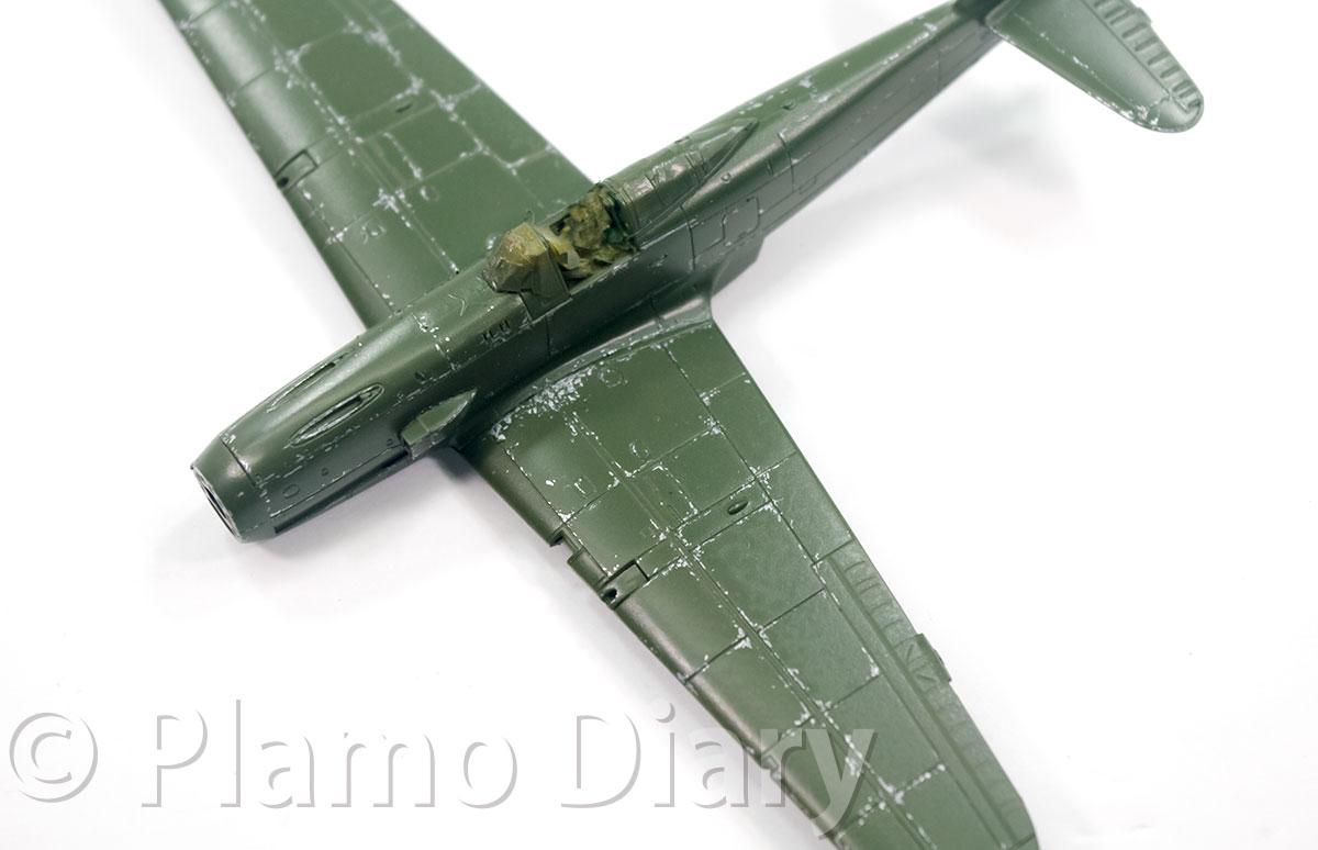 機体の傷の再現