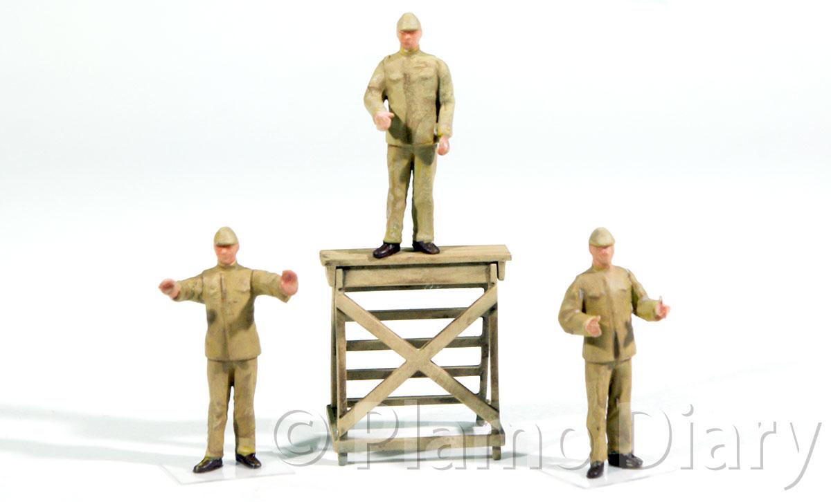 整備兵フィギュアの製作