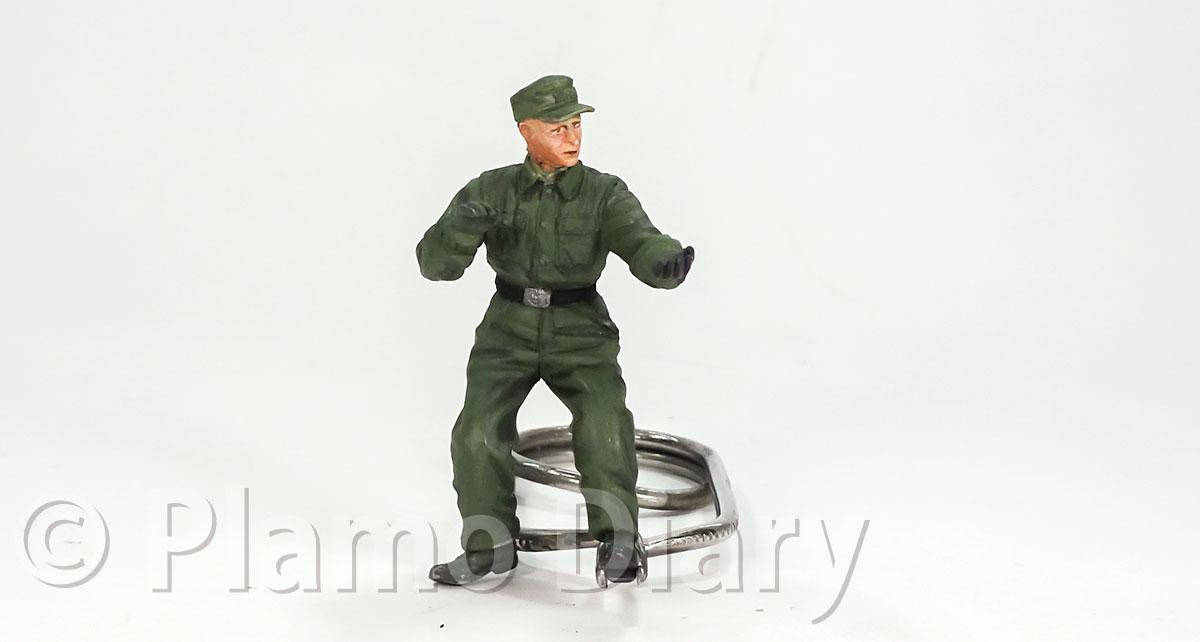 砲兵の服の塗装