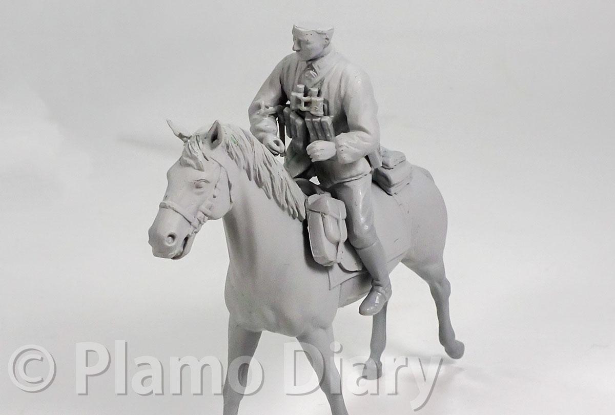騎兵フィギュアの装備品