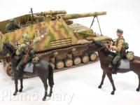 フンメル後期型と騎兵