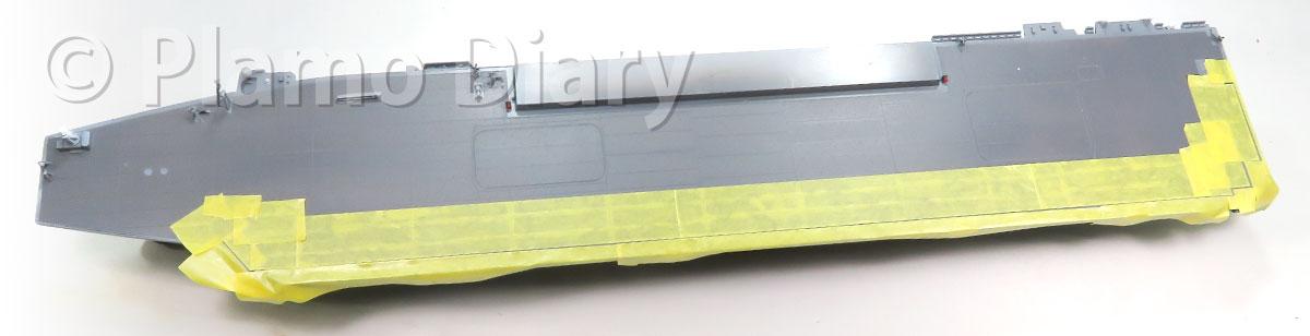 甲板の塗り分け