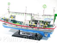 イカ釣り装置の塗装