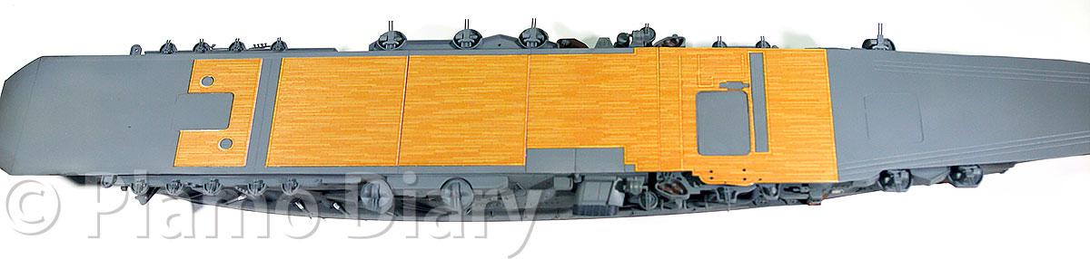 木製甲板デカール