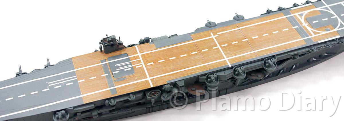 甲板の退色表現
