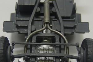 クルップボクサー6輪軽トラックのシャーシ