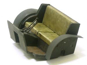 クルップボクサーの座席