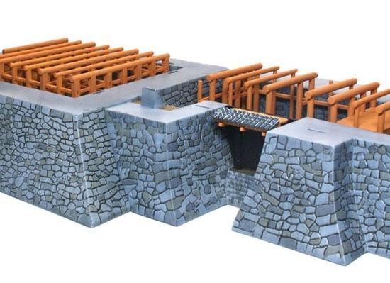 石垣と地階が完成