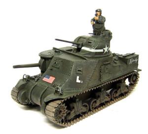 M3リー中戦車、仕上げと人形の制作
