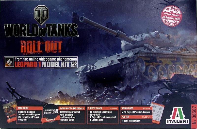 World of Tanks・レオパルト1主力戦車 1/35 イタレリ
