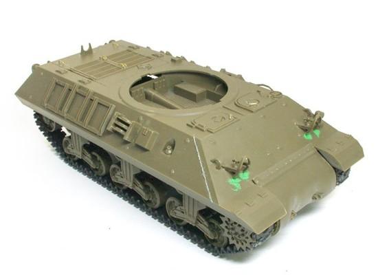 車体部分の組立て完了 駆逐戦車M10