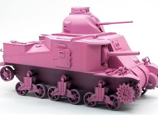 ガールズ&パンツァー M3リー中戦車