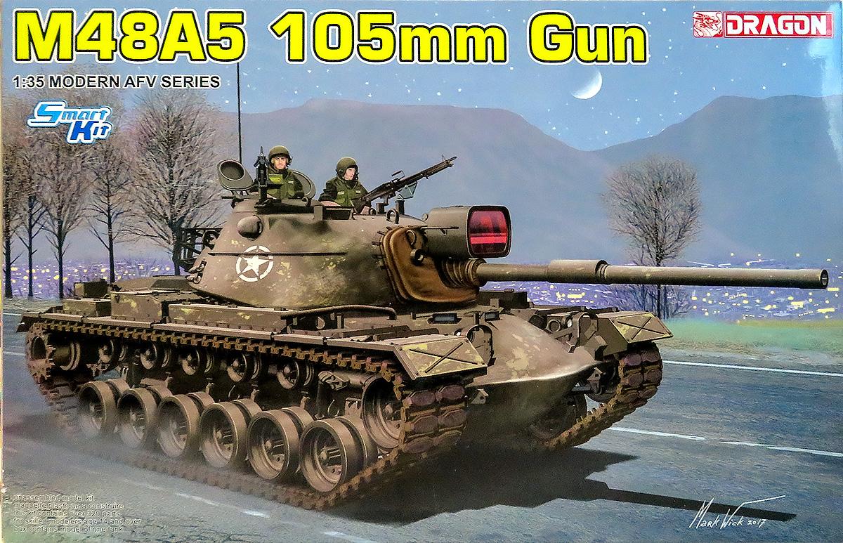 M48A5パットン105mm砲