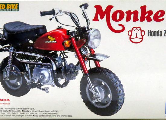 ホンダ・モンキー Z50J-1型 1/12 アオシマ