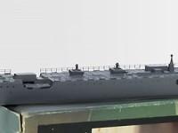 船体の塗装