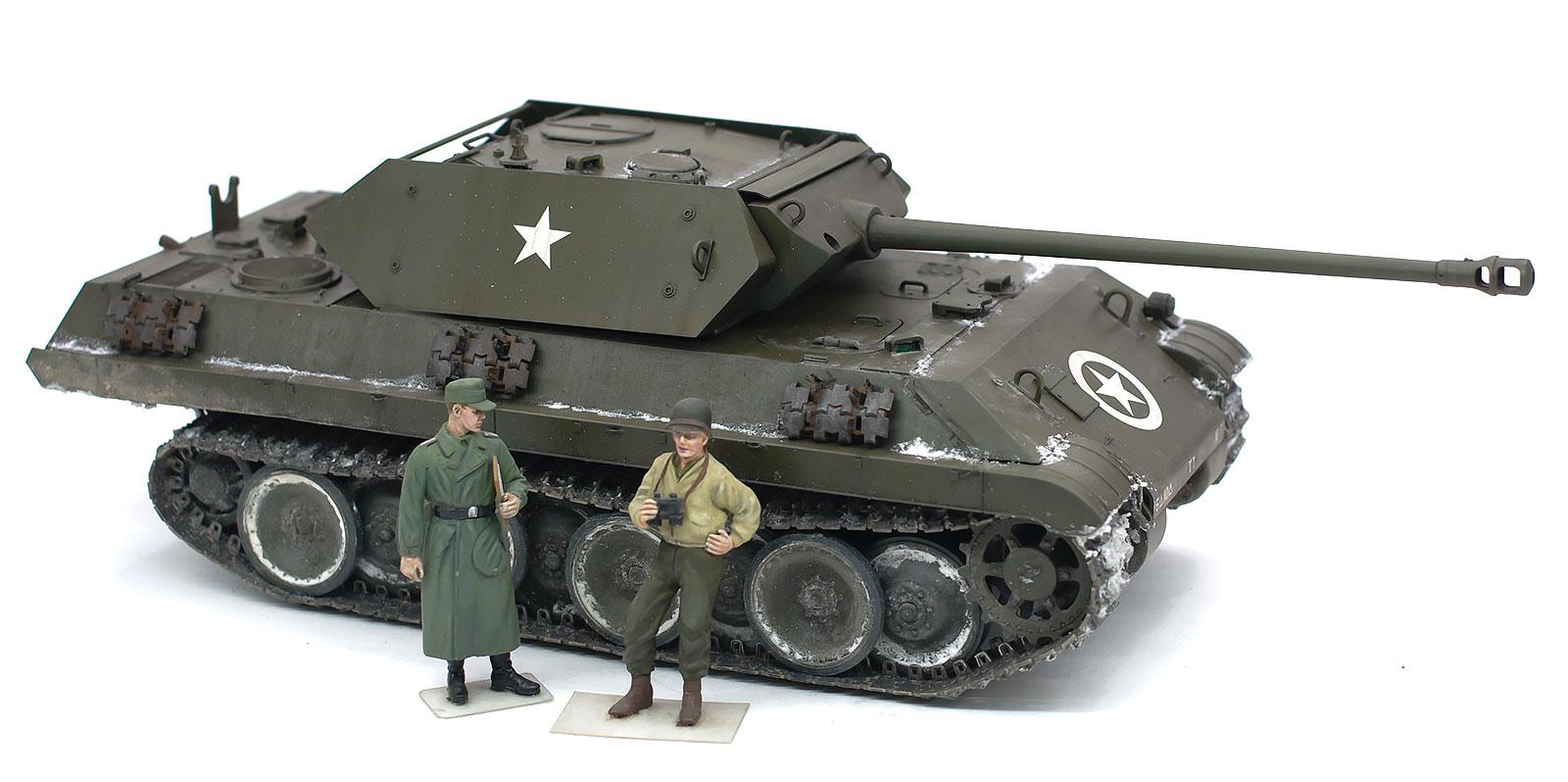ドイツ・なりすましM10駆逐戦車 1/35 サイバーホビー