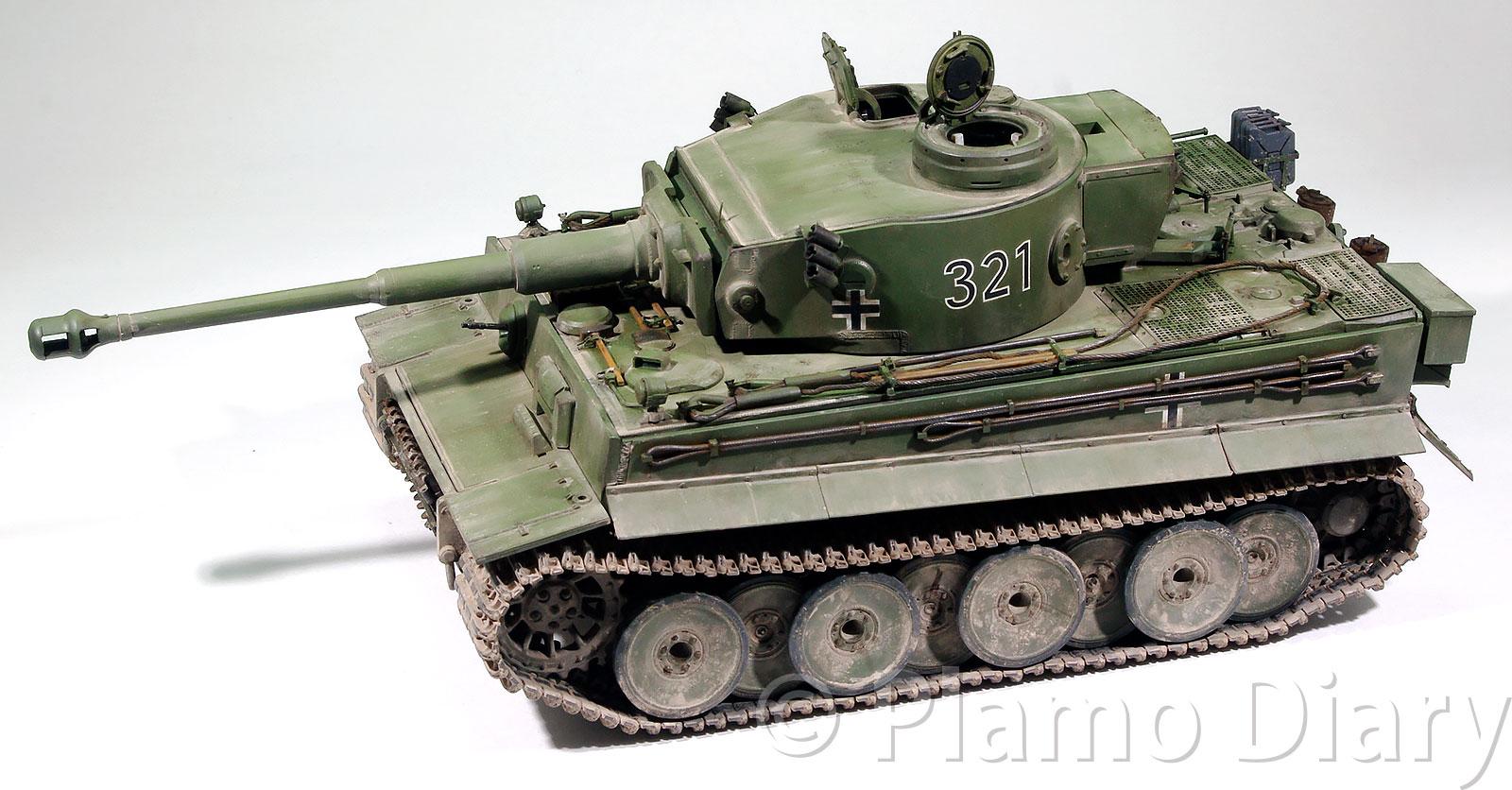 ティーガー1初期生産型(フルインテリア) 1/35 ライフィールドモデル