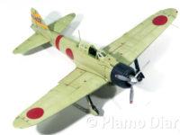 日本海軍・零式艦上戦闘機21型 フルアクション 1/72 エフトイズ
