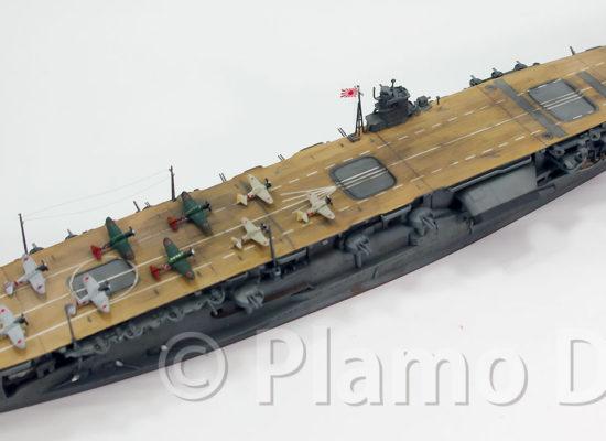 日本海軍・第1航空戦隊 航空母艦赤城 1/700 フジミ