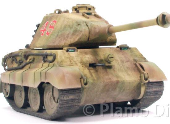World War TOONS・キングタイガーポルシェ砲塔 モンモデル