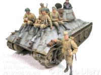 T-34/76 1942年型 六角砲塔ソフトエッジタイプ 1/35 サイバーホビー