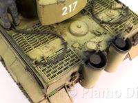 ドイツ重戦車・タイガー1中期生産型 オットー・カリウス搭乗車 1/35 タミヤ